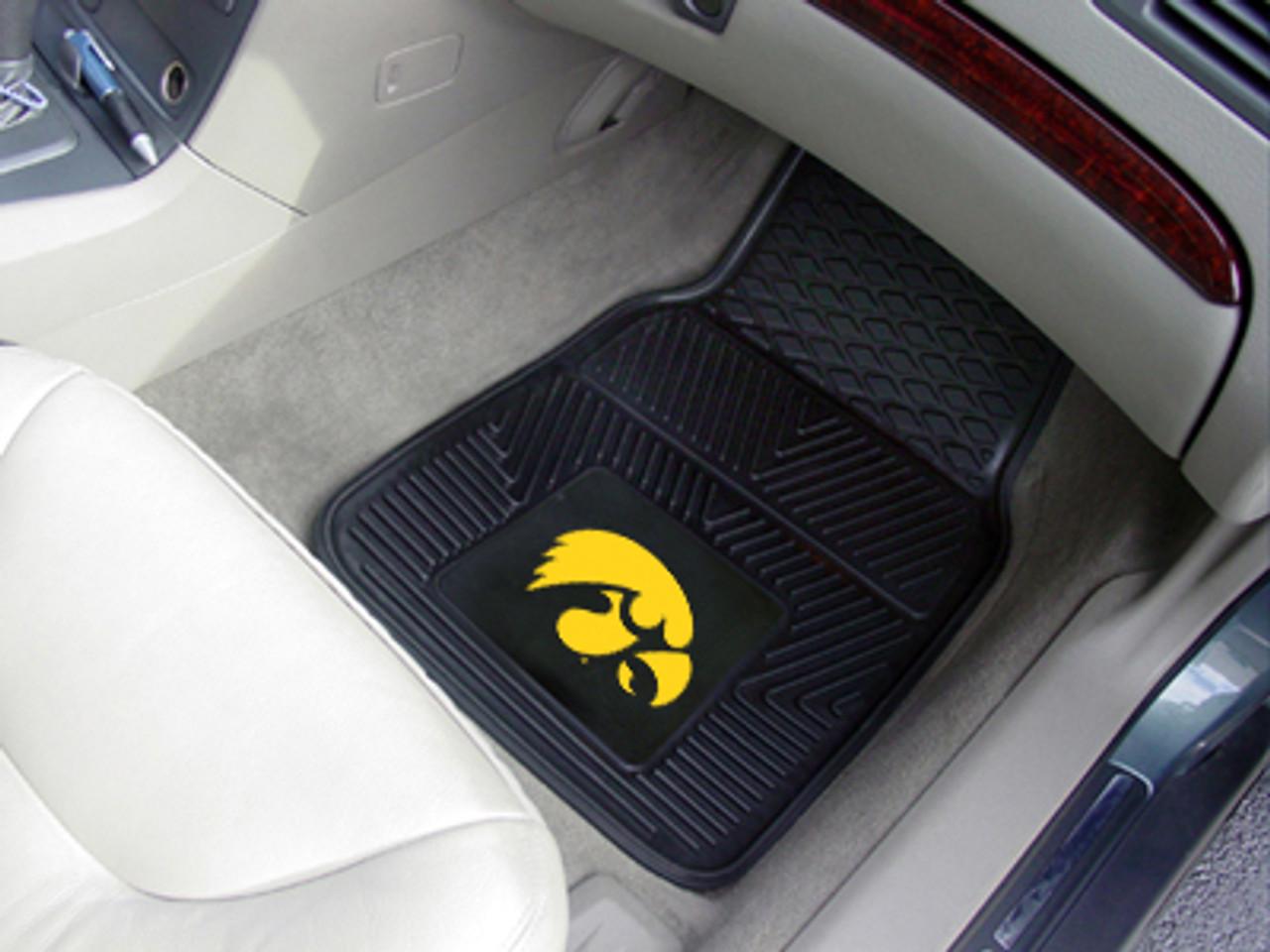 University of Illinois Heavy Duty Vinyl Car Floor Mats Set of 2