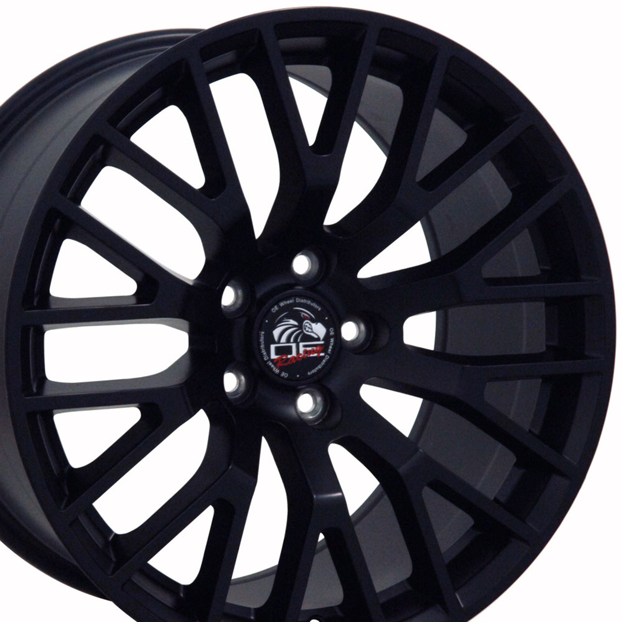 2015 Mustang Gt Wheels >> 18 Fits Ford 2015 Mustang Gt Wheel Matte Black 18x9