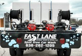 Fast Lane's Services St. Louis County with exclusive Spot-Free Car Wash technology
