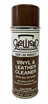 Aerosol Leather Vinyl Cleaner