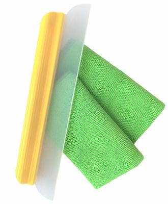 14 Inch Water Blade Microfiber Towel Combo