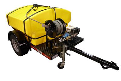 Model 3000HT Power Washer Trailer