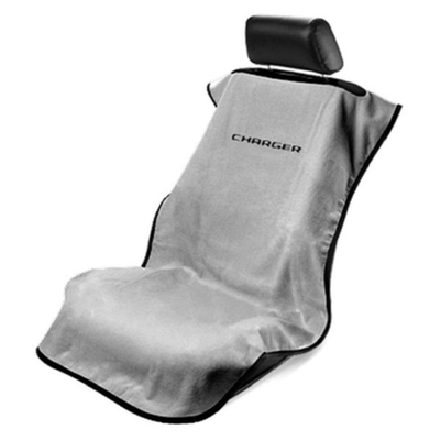 Charger Gray Car Seat Towel