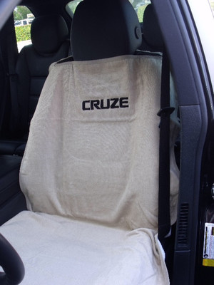 Chevy Cruze Black Car Seat Cover Towel