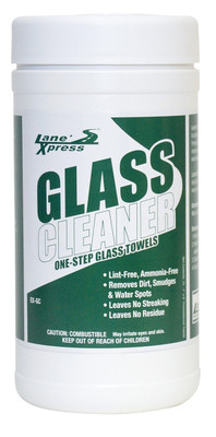 One Step Glass Cleaning Towels