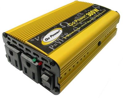 Go Power 300 WATT MODIFIED SINE WAVE INVERTER 12V