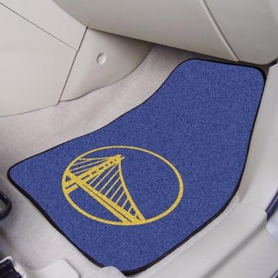 Golden State Warriors 2-piece Carpeted Car Floor Mats