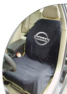 Nissan Black Car Seat Cover Towel