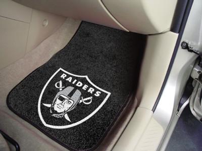 Oakland Raiders Carpet Floor Mats
