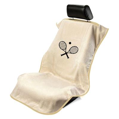 Tan Tennis Car Seat Towel