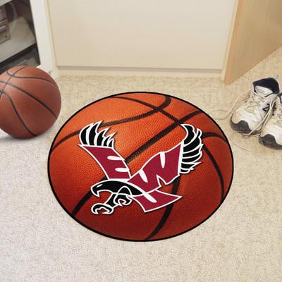 "Eastern Washington Basketball Mat 26"" diameter"