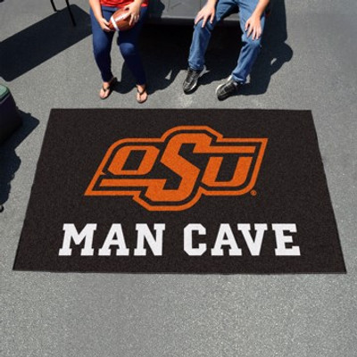 """Oklahoma State Man Cave UltiMat Rug 60""""x96"""""""
