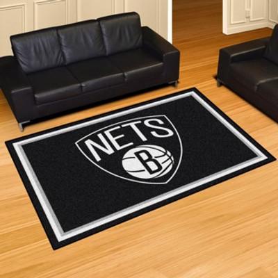 """NBA - Brooklyn Nets Rug 5x8 60""""x92"""""""