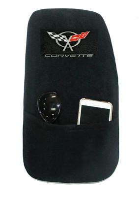 Corvette C5 Black Konsole Armour Center Console Cover