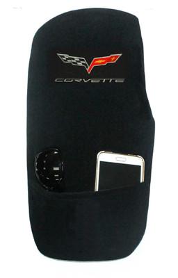 Corvette C6 Black Konsole Armour Center Console Cover