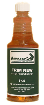 Trim New Plastic Restorer