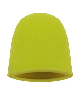 Finger Mitt in Aggressive Yellow