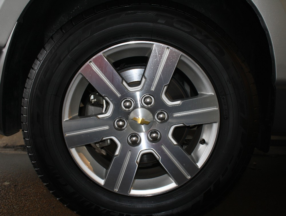 Satin Finish Tire Shine