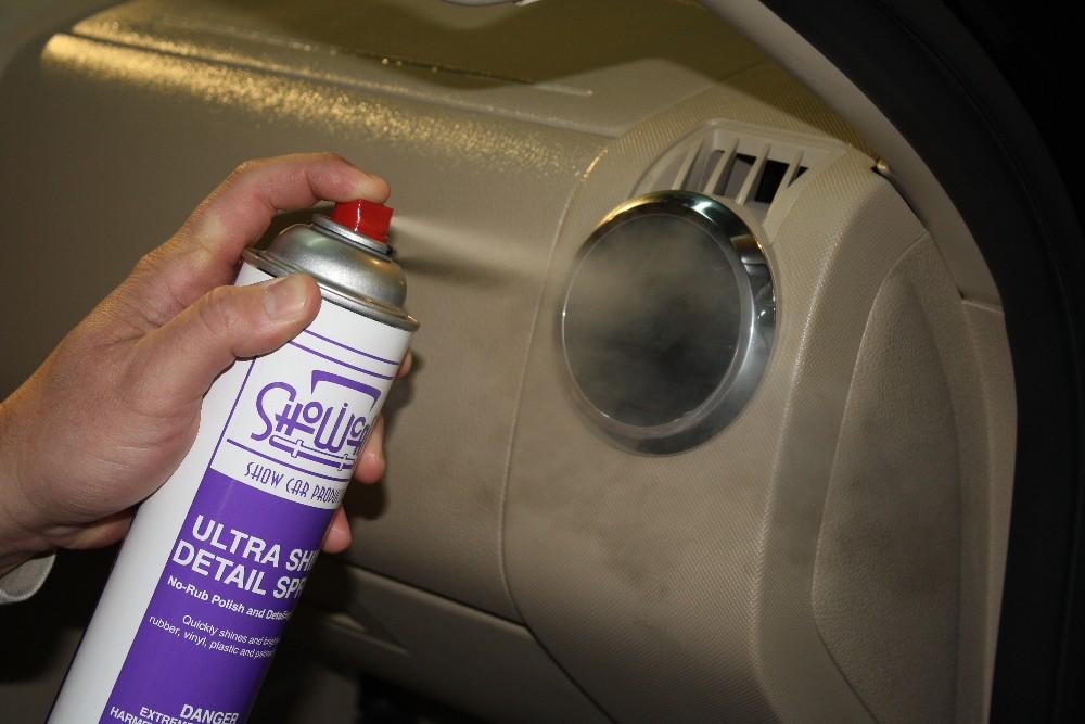 Use Ultra Shine on Plastic