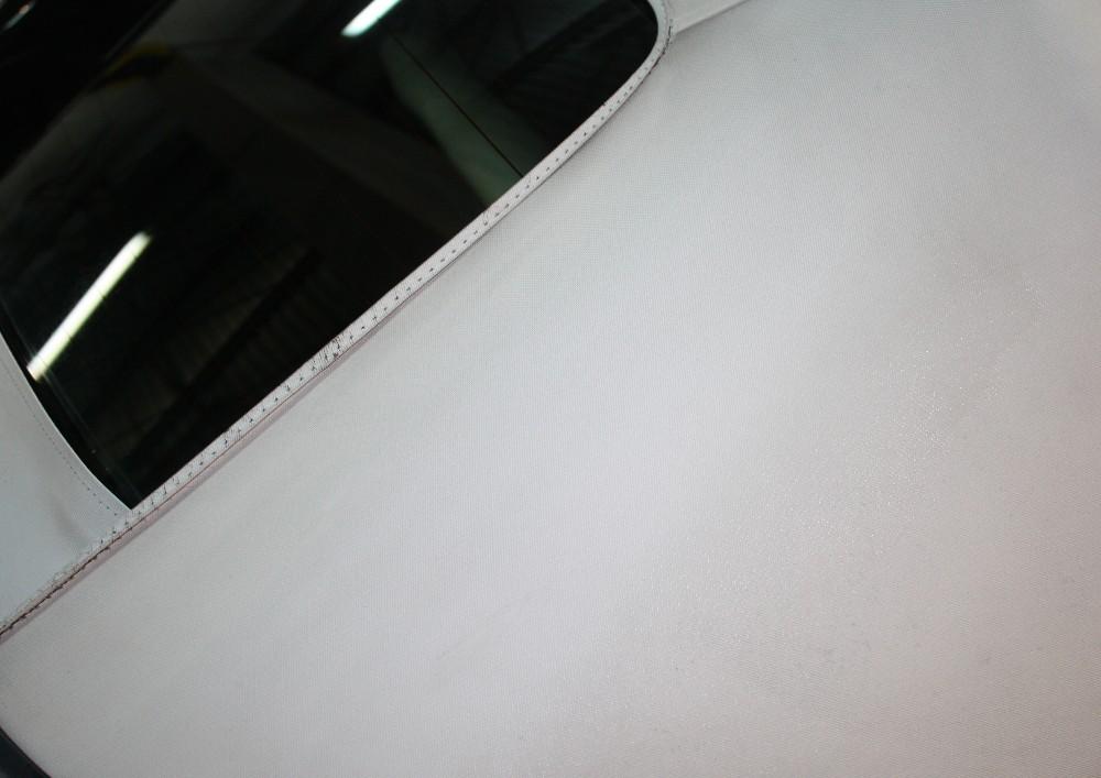 Clean Vinyl Convertible Top