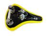Universal Moped Springer seat - Neon Yellow