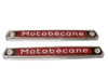 NOS Motobecane Tank Badge / Emblem Set (1 pair)
