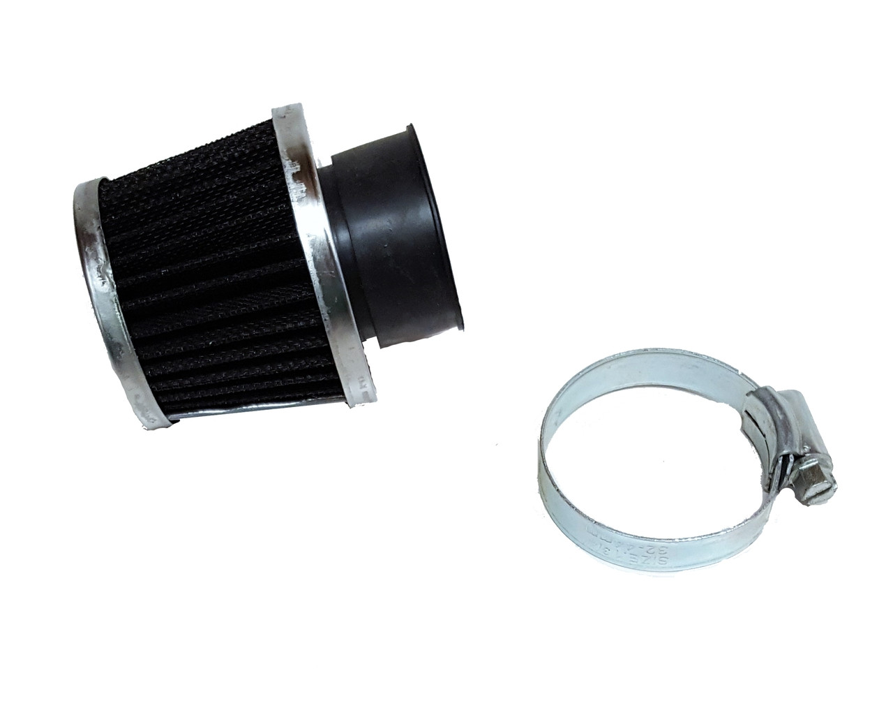 35mm Black Metal Mesh Air Filter, TOMOS A55 PHVA, PHBG