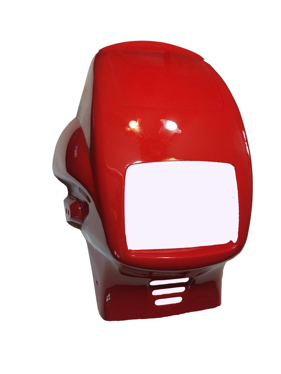NOS Tomos Headlight Fairing - Red