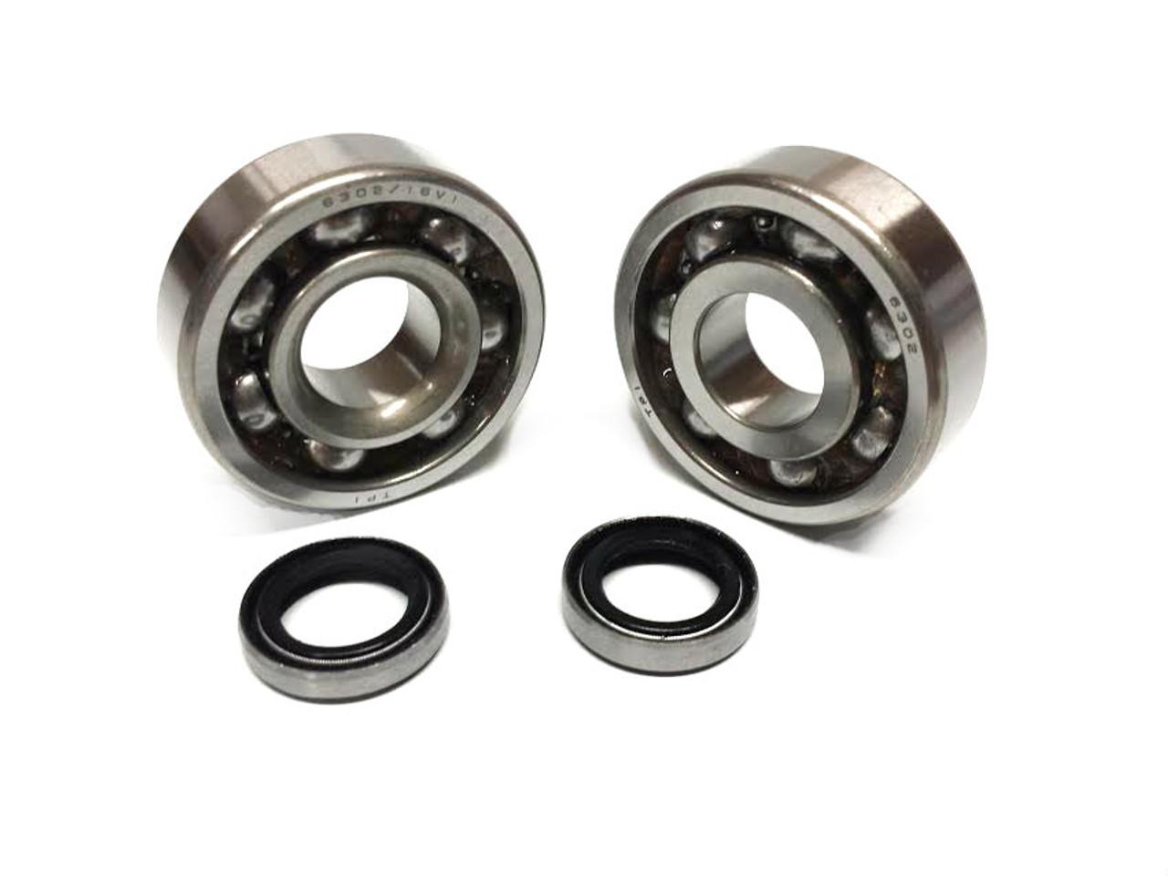 SKF Motobecane Engine Bearings and Seals Set - 6302