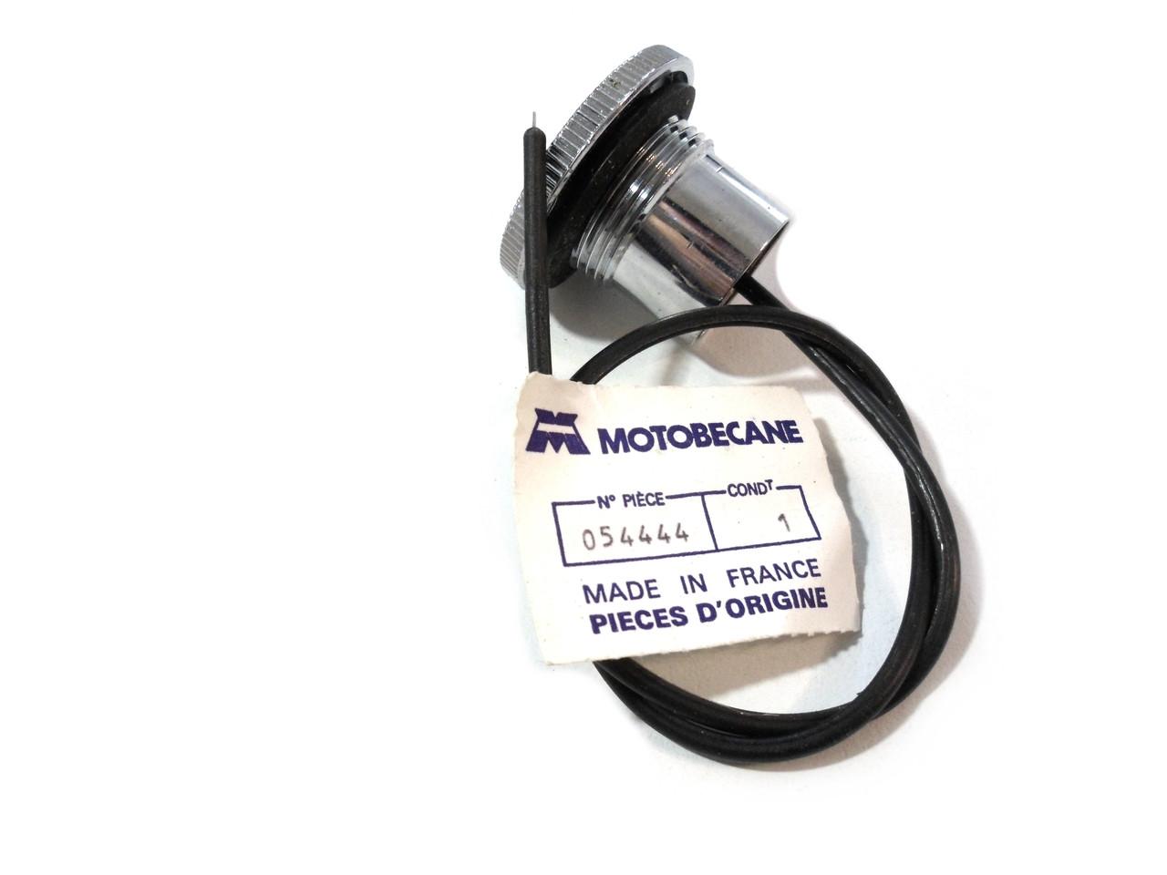 Original Motobecane Gas / Fuel Cap for 40v / 50v models - Chrome