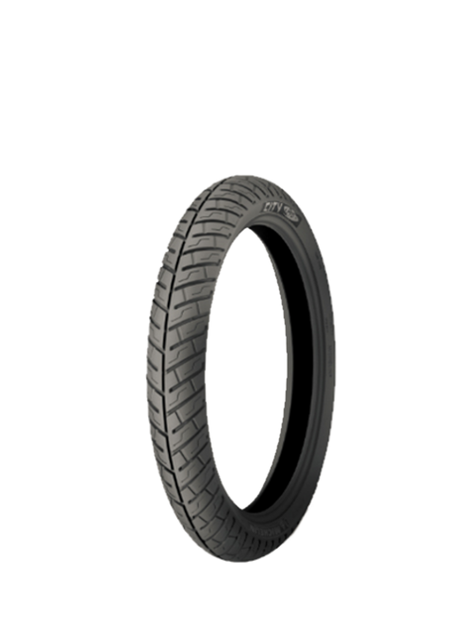 """Michelin City Pro 2.50"""" x 17"""" Moped Tire - Puncture Resistant"""