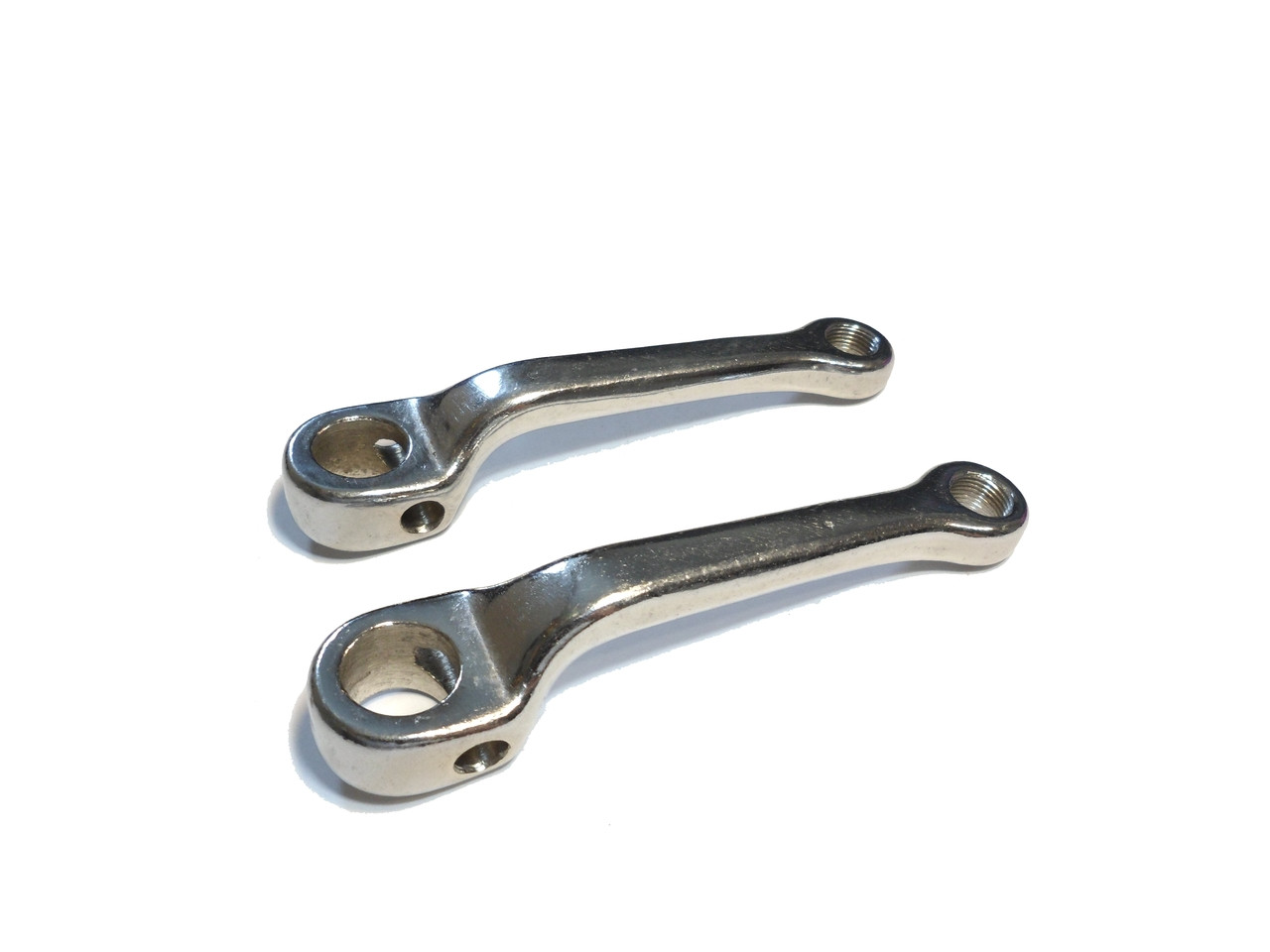Kinetic TFR, Magnum  Chrome Pedal Arm Set, 20mm