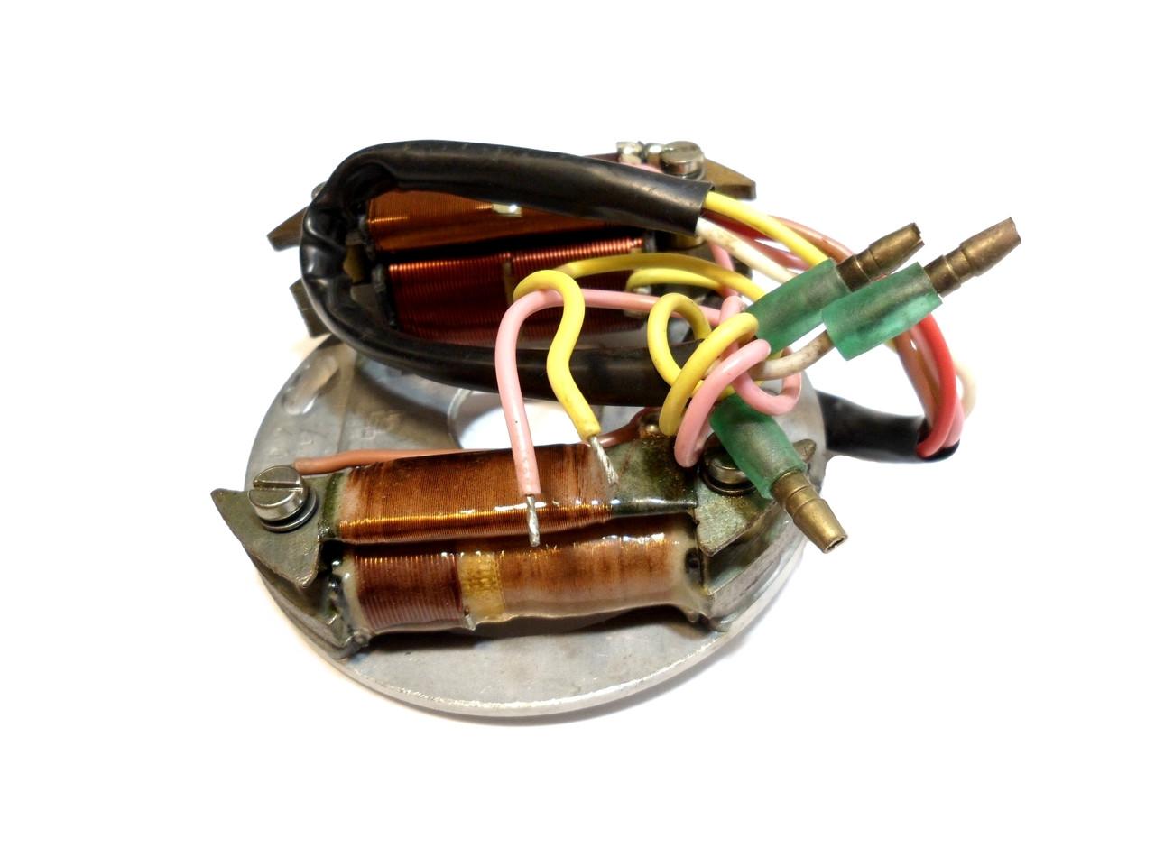 NOS Avanti 12 Volt 40 Watt CDI Flywheel Stator Plate, 5 Wire -
