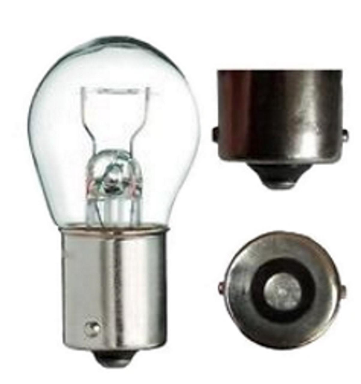 6Volt 21Watt Light Bulb *BA15s  / 1156 Base* Larger Glass Dome - German