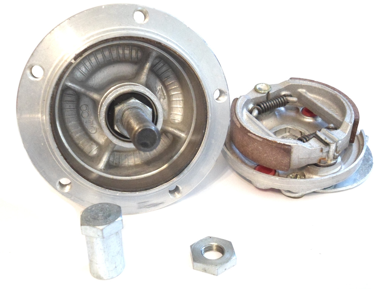 NOS Leleu 5 Star Front OFFSET Wheel Hub, 11mm Sealed Bearing - Complete