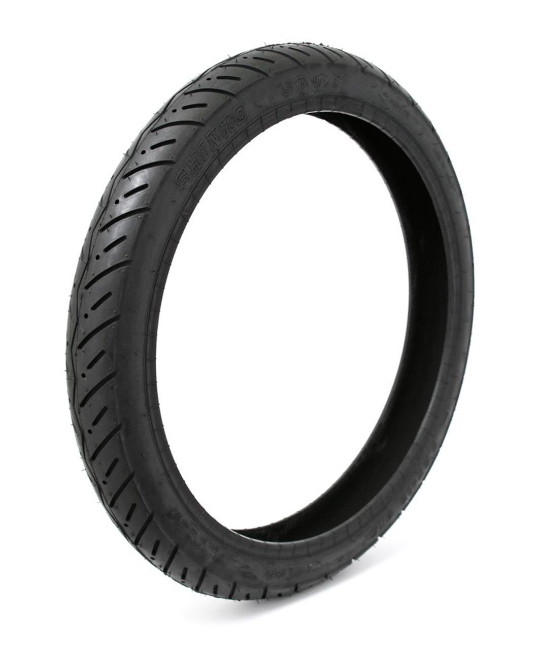 """Shinko SR714 80/80 x 16"""" 45P  Moped Tire"""