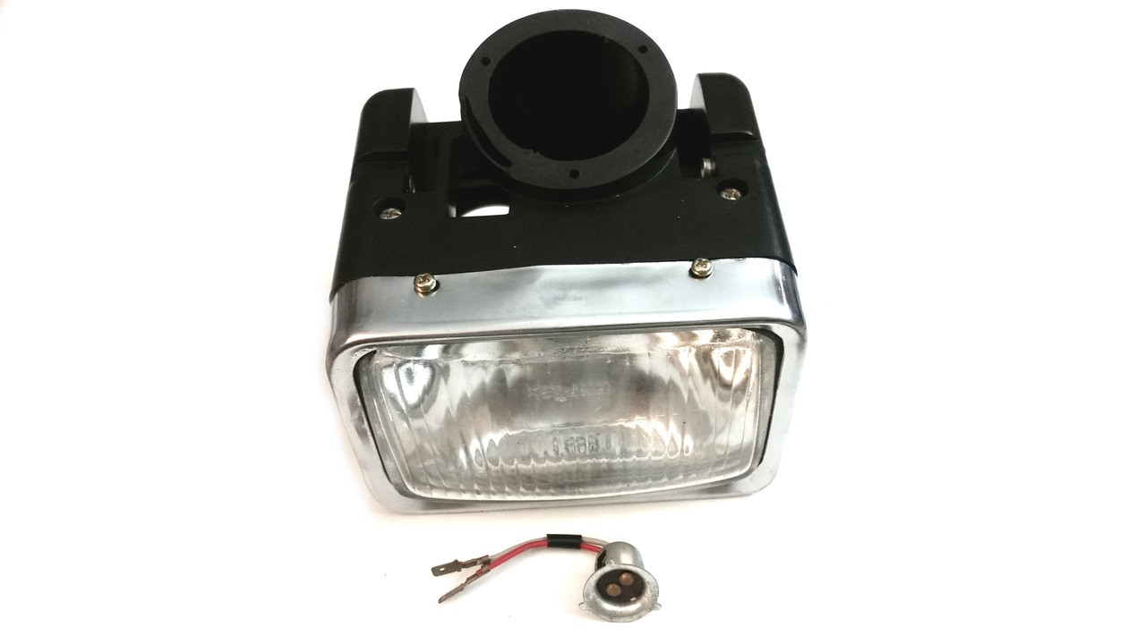 Original Kinetic Moped Complete Headlight Assembly, No Turn Signals, TFR - 15110987