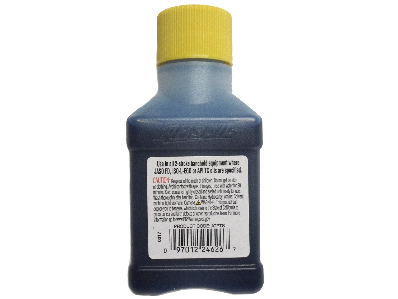Amsoil Saber Professional Synthetic 2-Stroke Mixing Oil - 2.6 FL Ounce