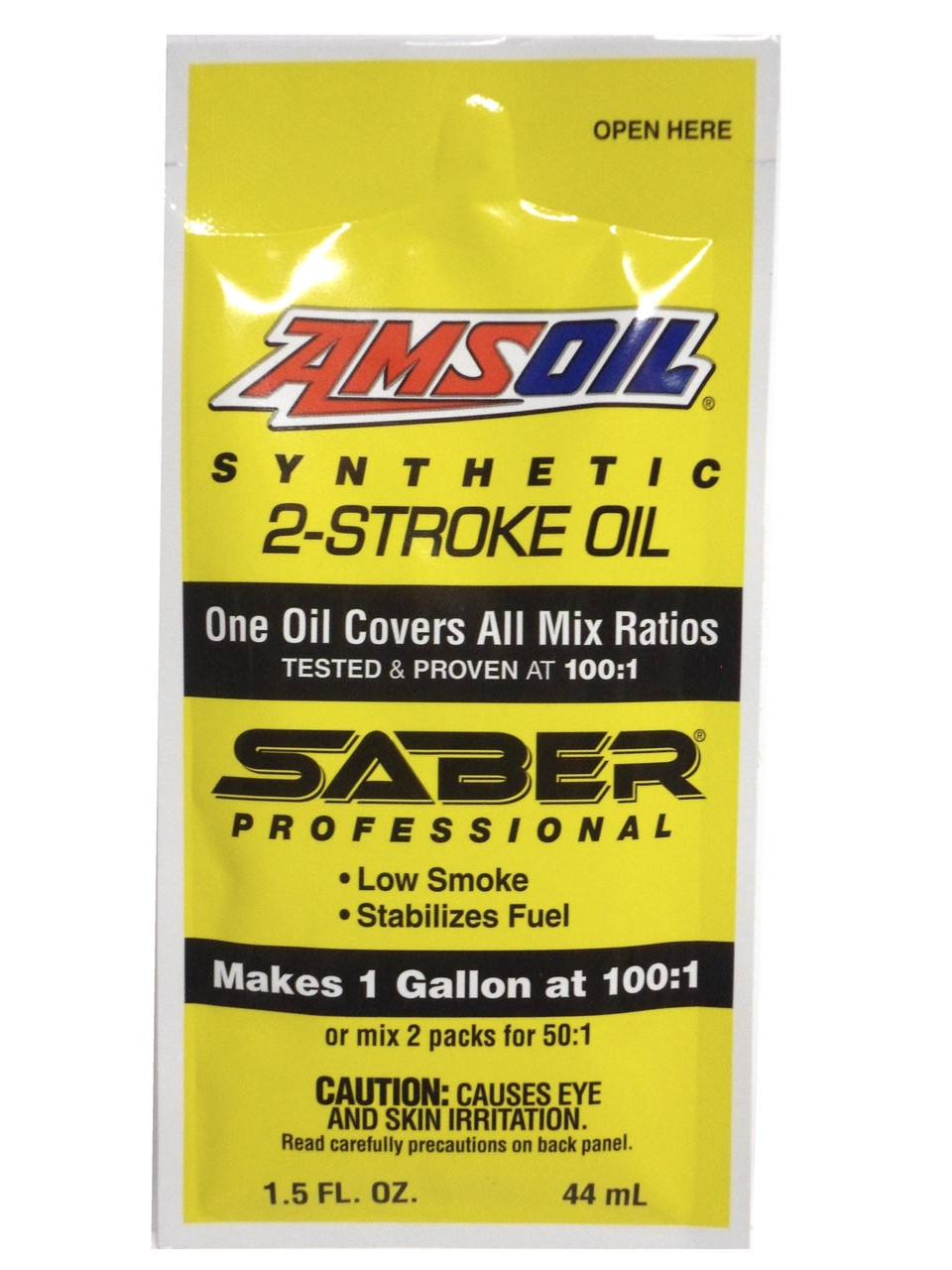 Amsoil Saber Professional Synthetic 2-Stroke Mixing Oil - 1.5 FL Ounce
