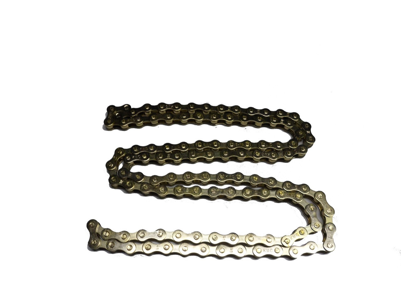 KMC Z410 1/8 Inch Bicycle Chain, 112 Links - Gold dust