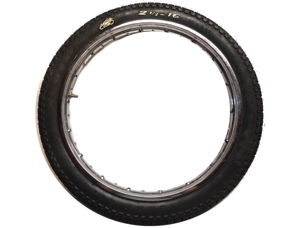 "Cosmo Golden Boy Tire 16 x 2.50"" - Kinetic Original"