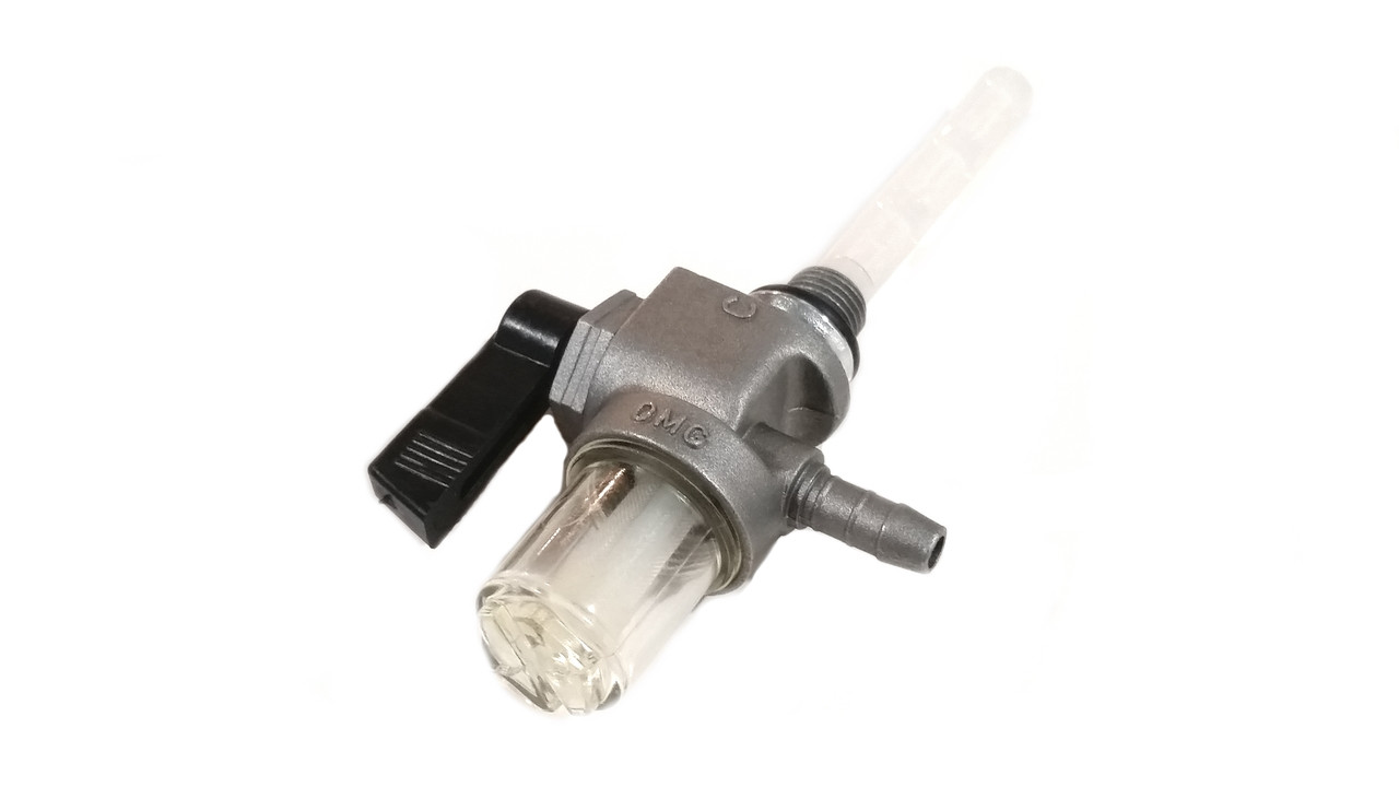 Motobecane / Peugeot 10mm OMG Petcock - Rear flow w/ Bowl