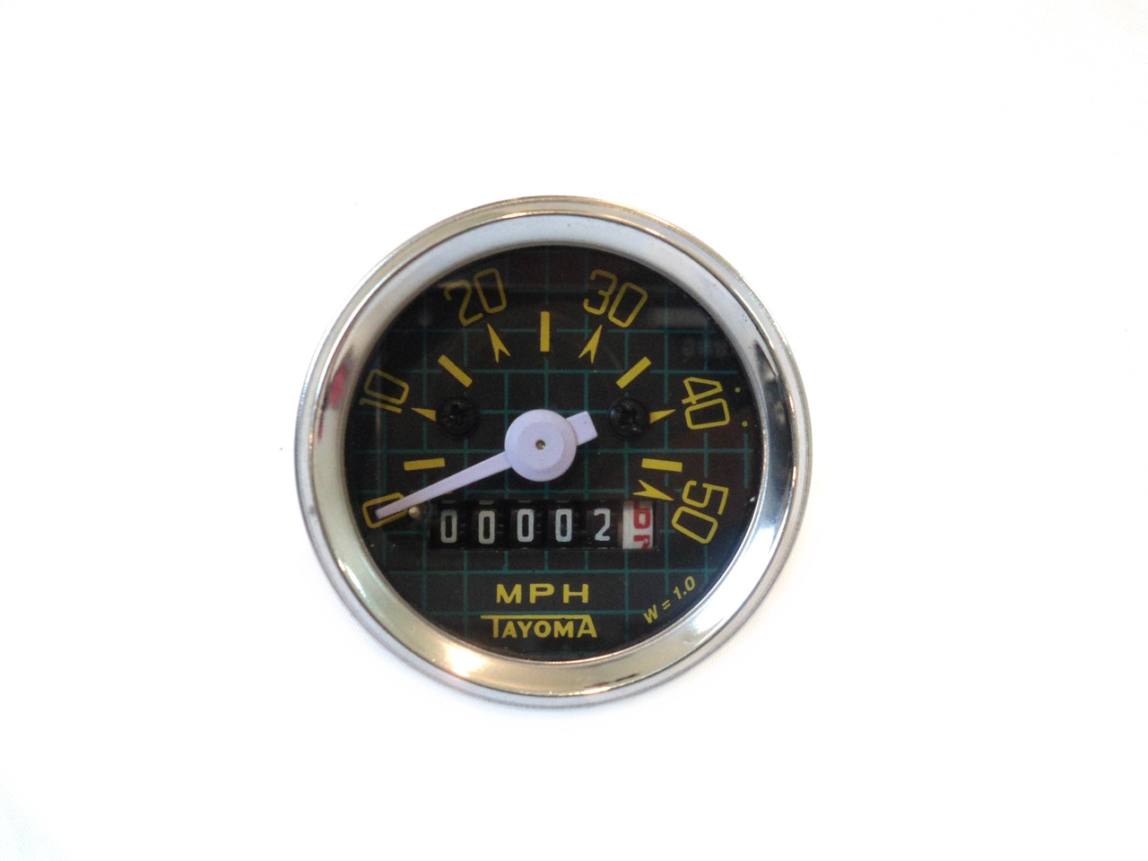 Kinetic Moped Speedometer with Back light - 50MPH