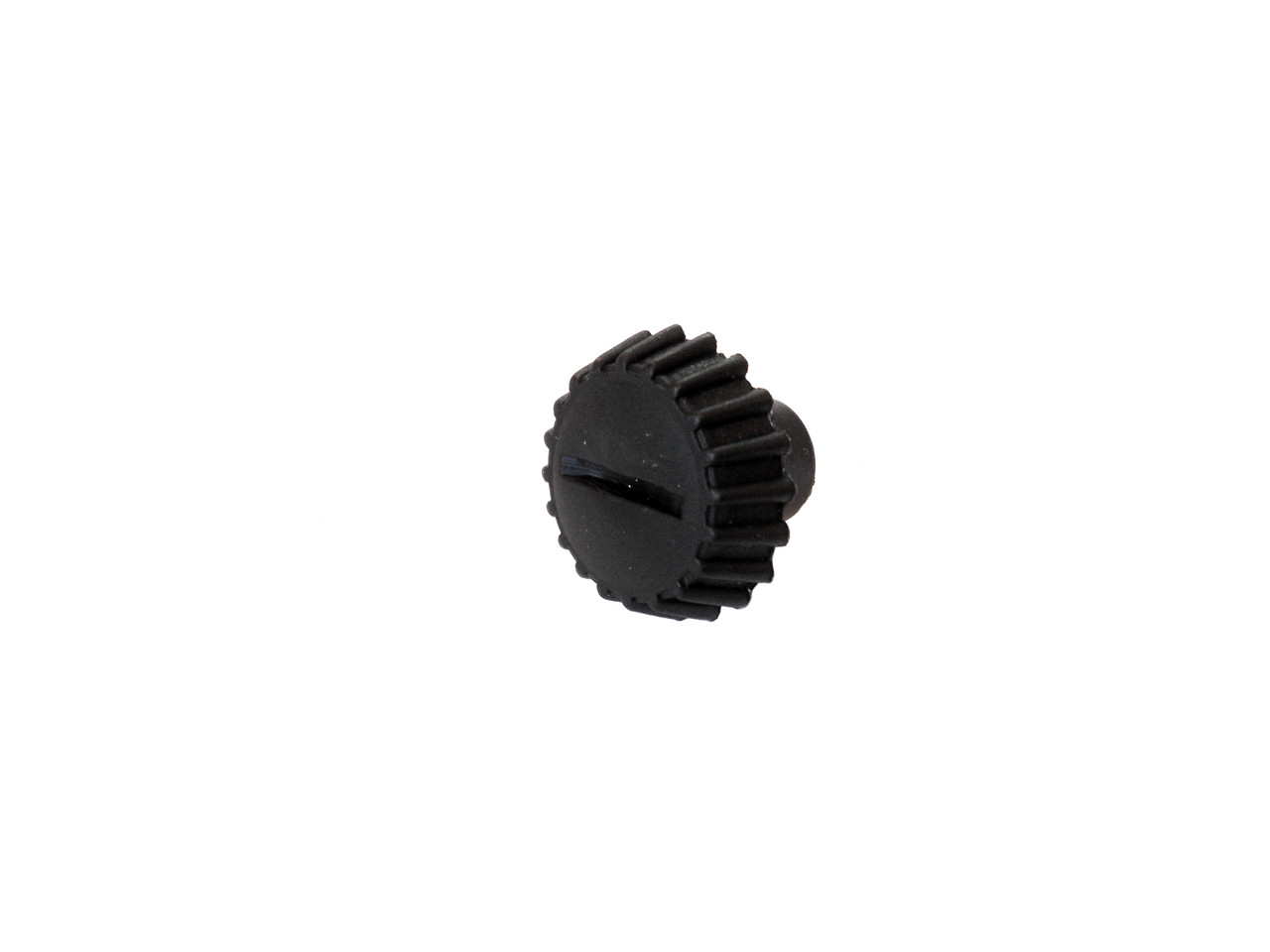 Motobecane Plastic Tool Box Cover Nut, M6 Thread - Black