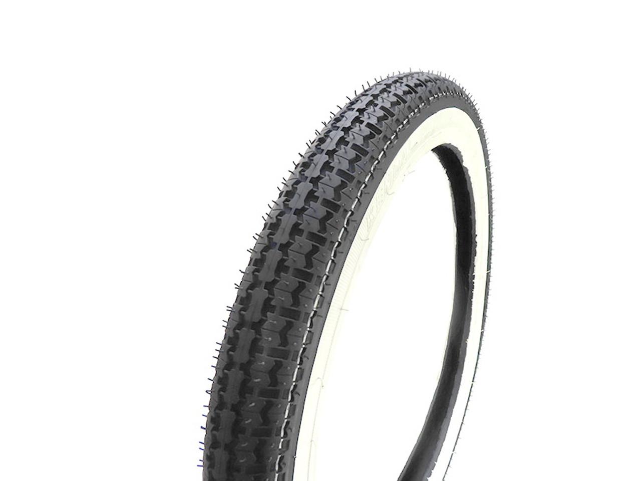 """Kenda K252 White Wall Moped Tire 2.25"""" x 16"""""""