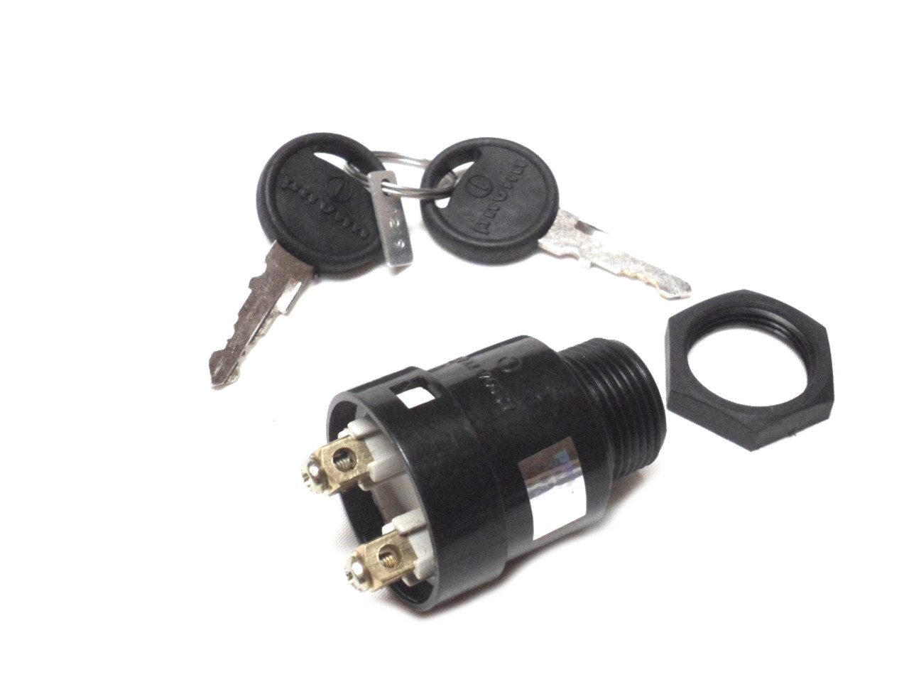 Original Kinetic Keyed Ignition Switch, 2 Prong - keys included