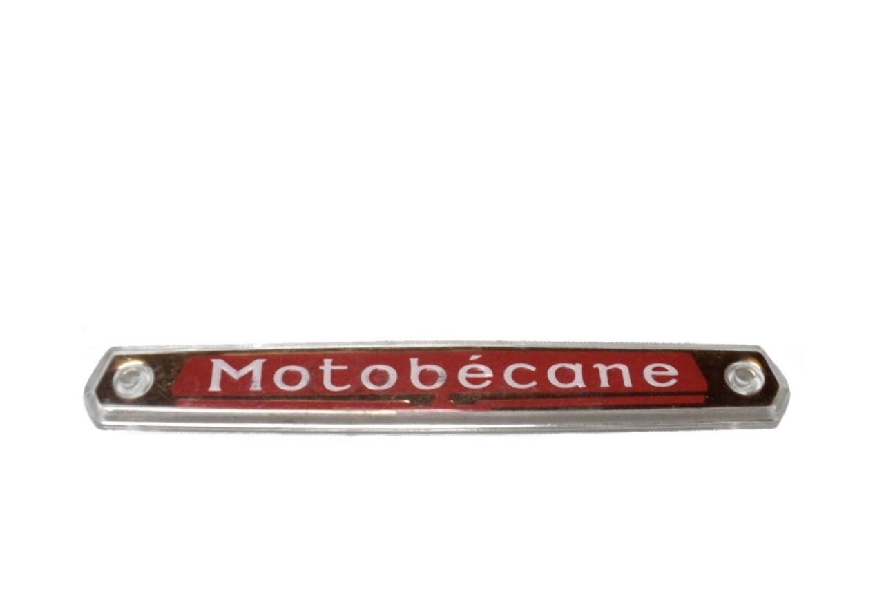 NOS Motobecane Tank Badge / Emblem - Single