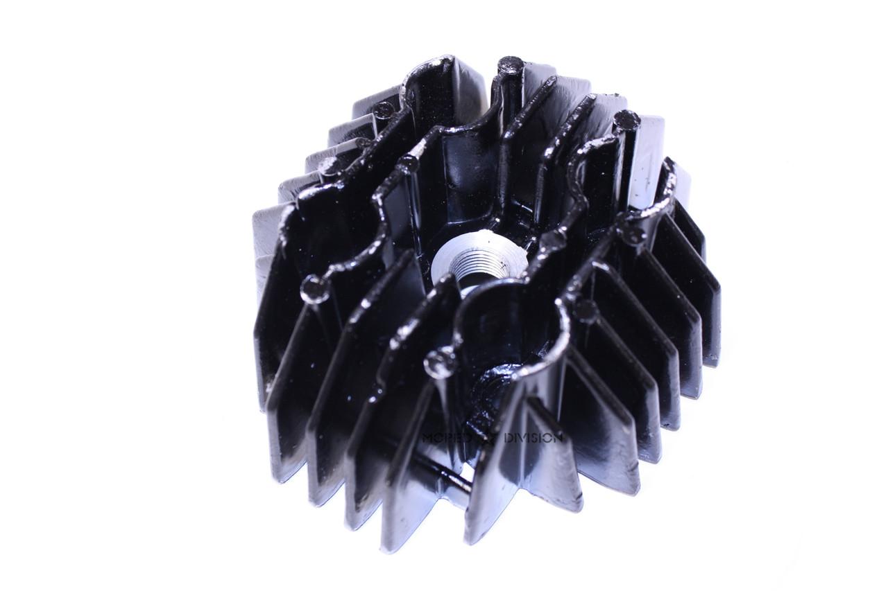 Tomos A3 50cc 38mm Cylinder Head, Cast Iron - Black
