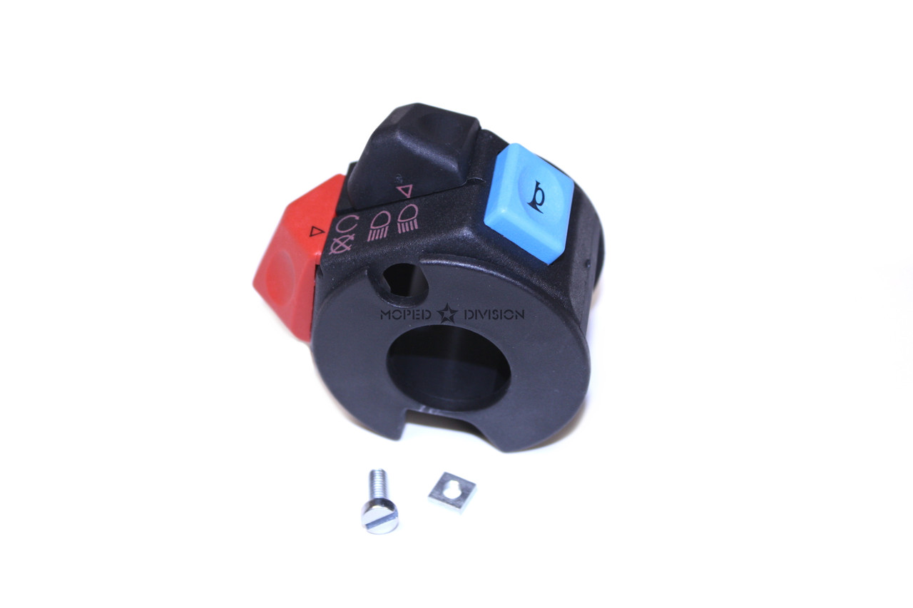 Tomos Original Right Hand Side  Switch w/ Base - Horn, lights, kill - 236591