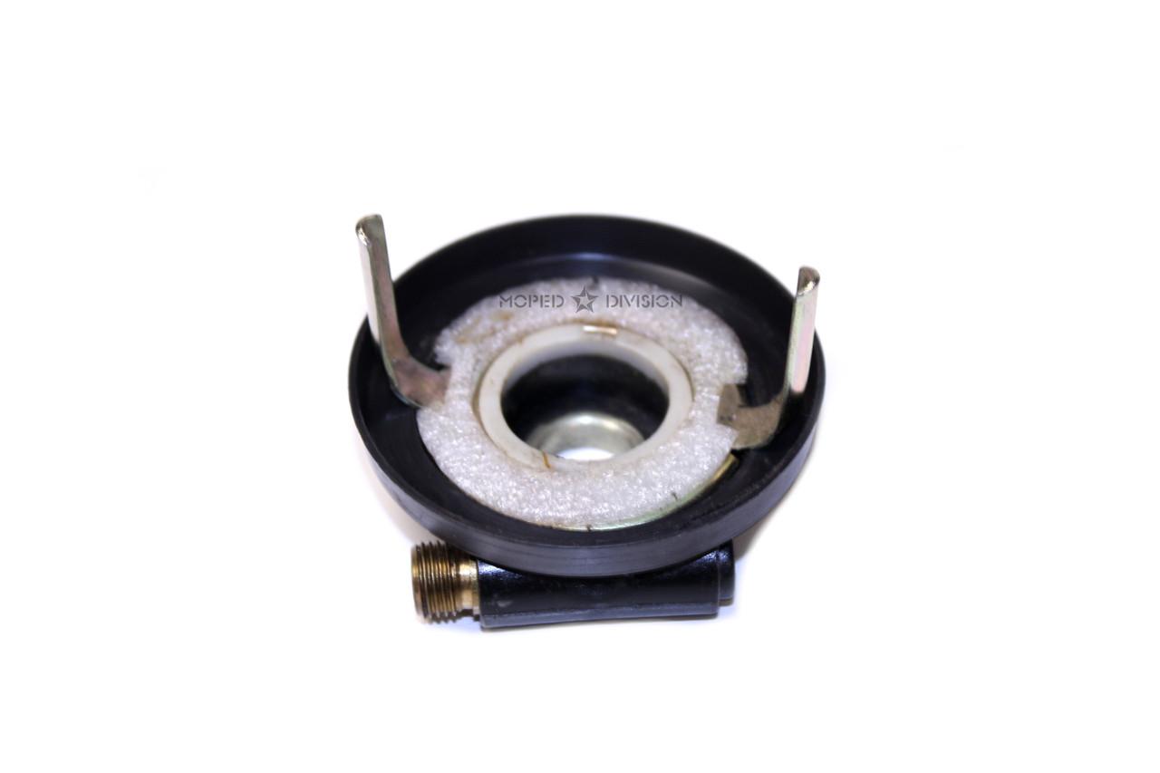 Original Kinetic Moped Speedometer Drive, Long Tab Version - Black